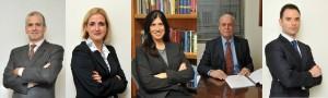 De Izq. a Der.: André Cantidiano, Claudia Gottsfritz, Isabel Cantidiano, Luiz Fernando, Rpdrigo Piva