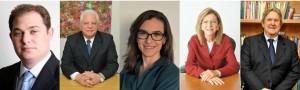 De Izq. a Der.: Daniel Kalansky, Eli Loria, Julia Franco, María L. Cantidiano y Luiz L. Cantidiano